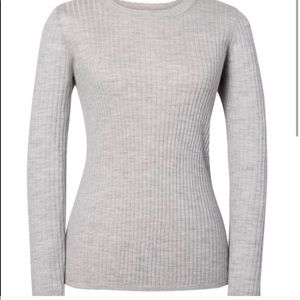 Banana Republic Ribbed 100% Merino Wool Sweater
